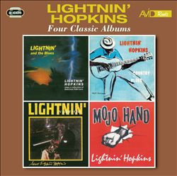 Four Classic Albums: Lightin' and the Blues/Country Blues/Lightin' in New York/Mojo Hand | Dodax.ca