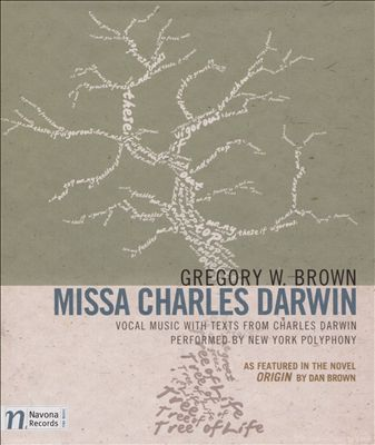 Gregory W. Brown: Missa Charles Darwin | Dodax.co.uk