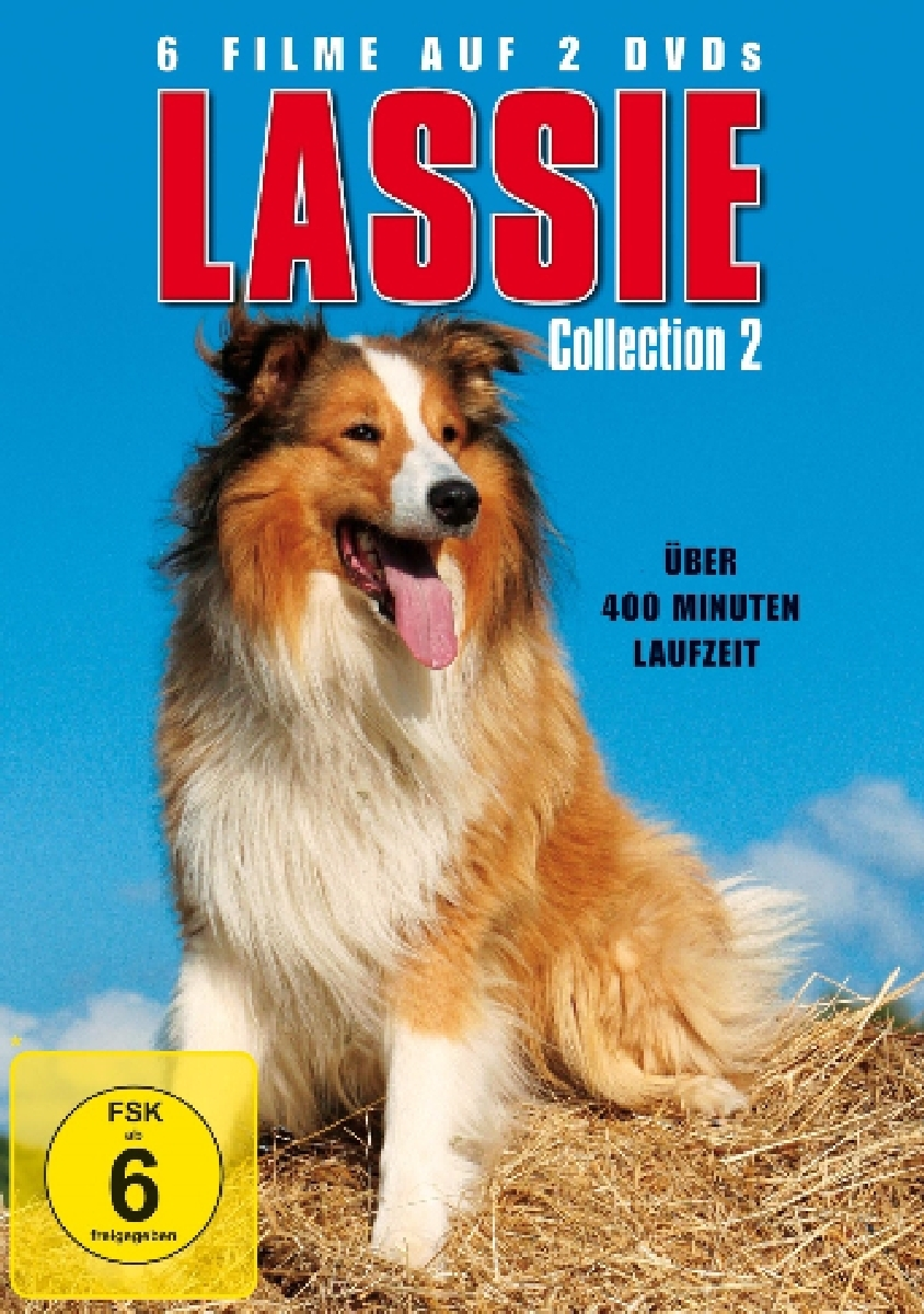 Jed Allan - Lassie Collection 2, 2 DVD