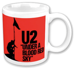 "Mug ""U2, Under Blood Red Sky"" 