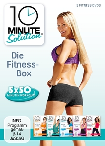10 Minute Solution - Die Fitness Box, 5 DVDs | Dodax.at