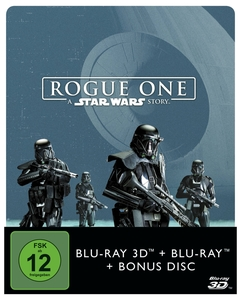 Rogue One - A Star Wars Story - 3D+2D - Steelbook | Dodax.co.uk