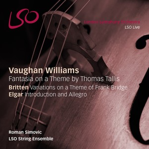 Vaughan Williams: Fantasia on a Theme by Thomas Tallis; Britten: Variations on a Theme of Frank Bridge; Elgar: Introduction and Allegro | Dodax.ch