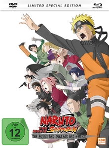 Naruto Shippuden - The Movie 3, 1 Blu-ray u .1 DVD (Limited Special Edition) | Dodax.at