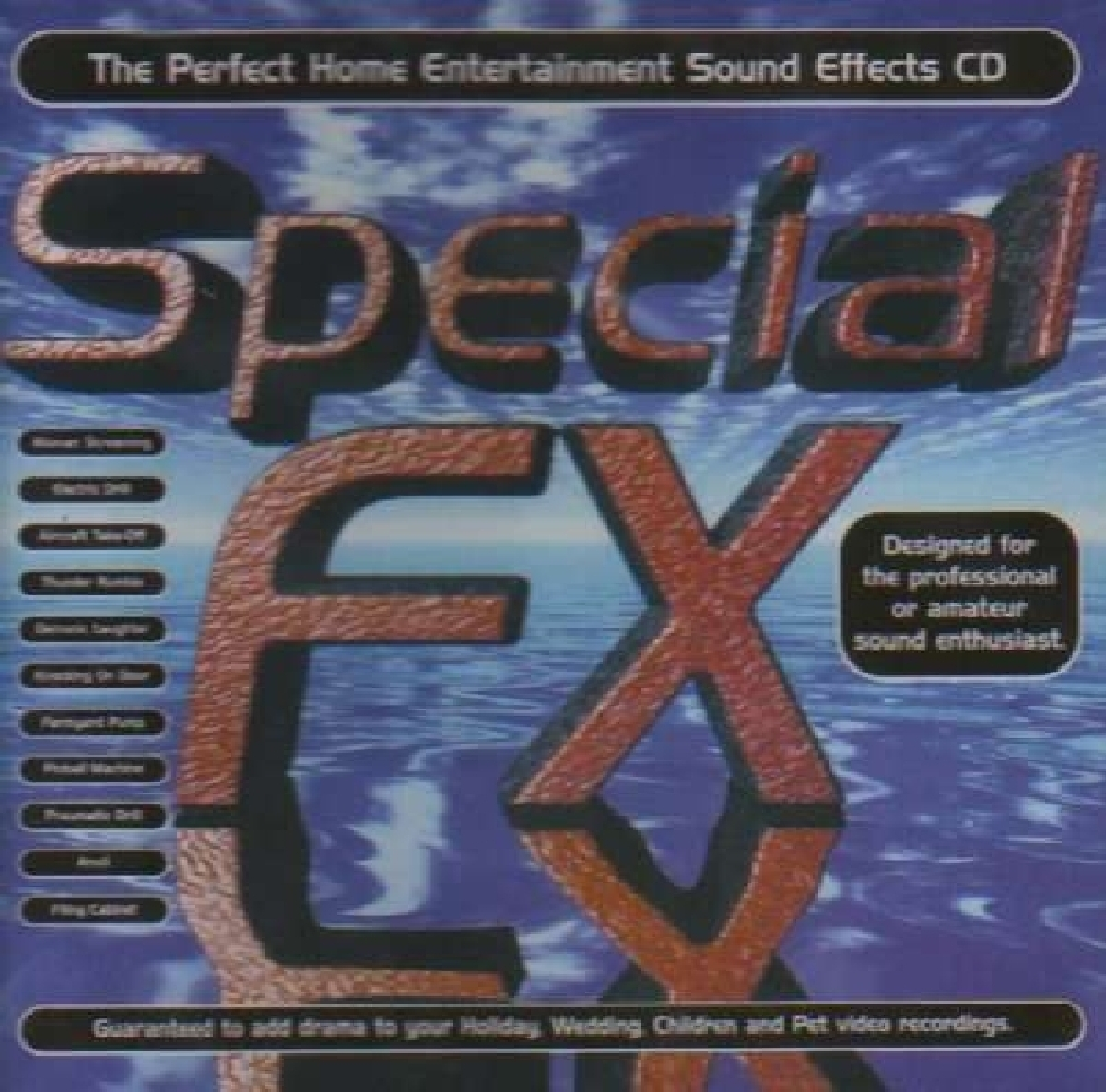 Details about Sound Effects - Special FX, Vol  1