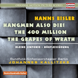 Hanns Eisler: Hangmen Also Die!; The 400 Million; The Grapes of Wrath | Dodax.ch