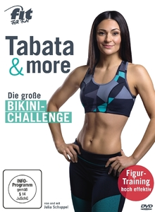 Fit For Fun - Tabata & more - Die große Bikini-Challenge, 1 DVD | Dodax.at