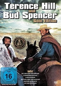 Terence Hill und Bud Spencer, 1 DVD (Gold Edition) | Dodax.at