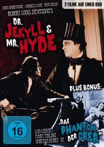 Dr. Jekyll and Mr. Hyde / Das Phantom der Oper / Die verlorene Welt (The Lost World), 2 DVDs | Dodax.nl