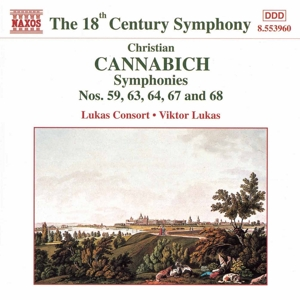 Cannabich: Symphonies Nos. 59, 63, 64, 67 and 68 | Dodax.co.uk