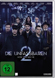 Die Unfassbaren 2 - Now You See Me, 1 DVD | Dodax.ch