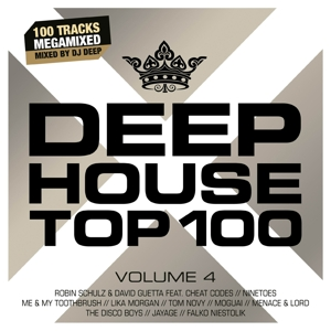 DEEPHOUSE TOP 100 VOL.4 | Dodax.nl