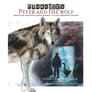 Prokofiev: Peter & The Wolf; Violin Concerto No. 2 | Dodax.co.jp