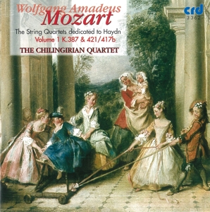 Mozart: String Quartets Dedicated to Haydn, Vol. 1 - K. 376 & 421/417b | Dodax.es
