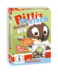Pitti's Platsch Quatsch Box, 2 DVDs | Dodax.nl