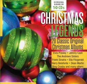 Christmas Legends, 10 Audio-CDs | Dodax.ch