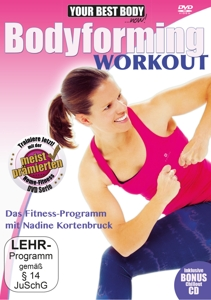 Your Best Body / Bodyforming Workout, 1 DVD + Audio-CD | Dodax.at