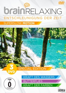 Brain Relaxing - Entschleunigung der Zeit (Superslow Motion), 3 DVDs | Dodax.at