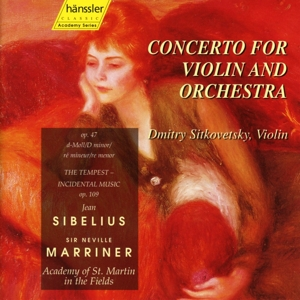 Sibelius: Concerto for Violin and Orchestra; The Tempest | Dodax.ca