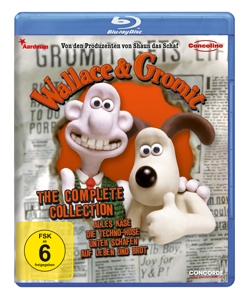 Wallace & Gromit - The complete Collection, 1 Blu-ray | Dodax.de
