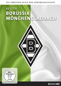 Best of Borussia Mönchengladbach, 6 DVDs | Dodax.at