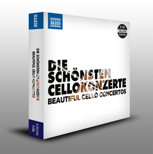 Die schönsten Cellokonzerte / The Most Beautiful Cello Concertos, 3 Audio-CDs | Dodax.at