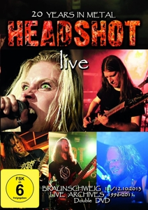 Headshot: 20 Years In Metal, 2 DVD | Dodax.nl