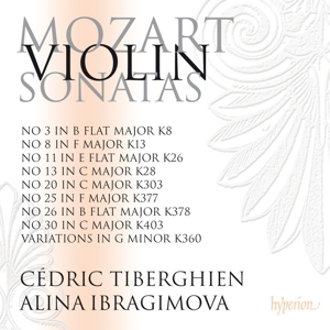 Mozart: Violin Sonatas Nos. 3, 8, 11, 13, 20, 25, 26, 30; Variations in G minor | Dodax.es