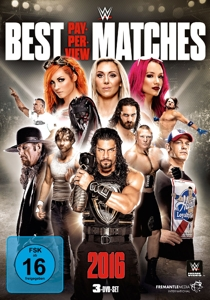 Best PPV Matches 2016, 3 DVDs | Dodax.at