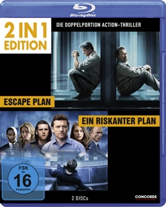 2in1 Escape Plan / Ein riskanter Plan, 2 Blu-rays | Dodax.com