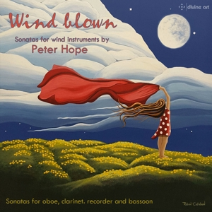 Wind Blown: Sonatas for wind instruments by Peter Hope | Dodax.ch