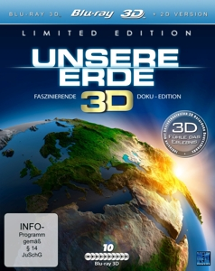 Unsere Erde Real 3D, 10 Blu-ray (Limited Special Edition) | Dodax.ch