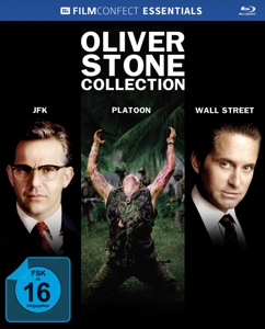 Oliver Stone Collection, 3 Blu-ray u. 3 Kinoplakate (Limited Mediabook) | Dodax.co.uk