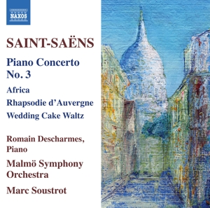 Saint-Saëns: Piano Concerto No. 3; Africa; Rhapsodie d'Auvergne; Wedding Cake Waltz | Dodax.at