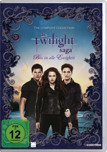 Die Twilight-Saga The Complete Collection, 11 DVDs   Dodax.at