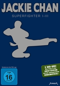 Jackie Chan -  Superfighter 1-3 | Dodax.co.jp