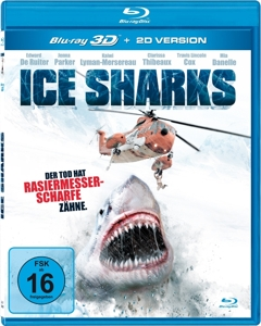 Ice Sharks 3D, 1 Blu-ray | Dodax.at