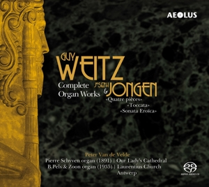 Guy Weitz, Joseph Jongen: Complete Organ Works | Dodax.at