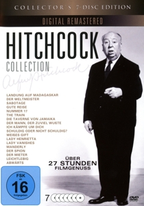 Hitchcock Collection, 7 DVD | Dodax.ch