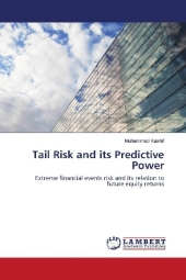 9783330002579 - Muhammad Kashif: Tail Risk and its Predictive Power - Buch