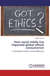9783330000919 - Waqas Hussain: How social media has impacted global ethical consumerism - Buch