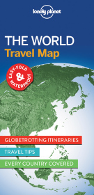 Lonely Planet The World Planning Map | Dodax.ch