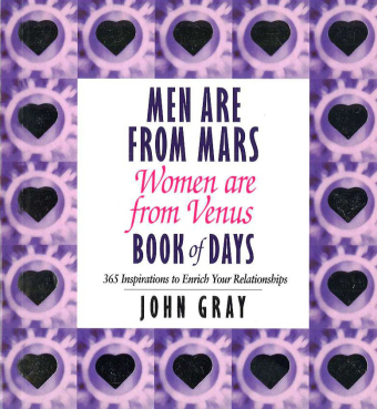 Men are from Mars, Women are from Venus, Book of Days | Dodax.de