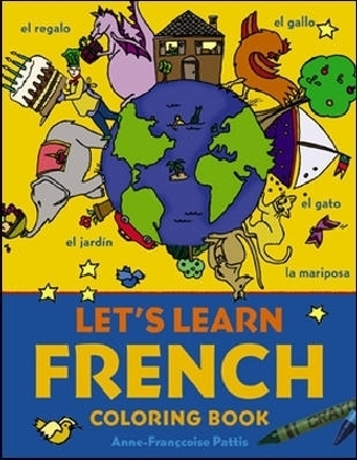 Let's Learn French Coloring Book | Dodax.fr