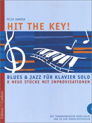Hit the Key!, für Klavier, m. Audio-CD | Dodax.ch