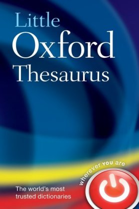 Little Oxford Thesaurus (3rd edition) | Dodax.de