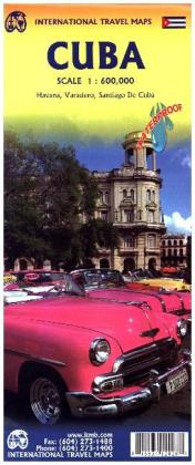 International Travel Map ITM Cuba | Dodax.ch