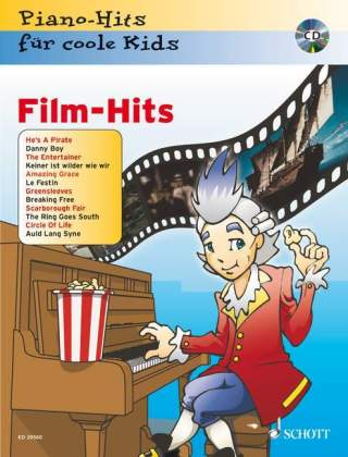 Film-Hits, Klavier, m. Audio-CD | Dodax.co.uk