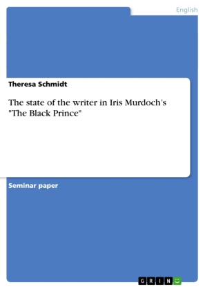 """The state of the writer in Iris Murdoch's """"The Black Prince""""   Dodax.pl"""