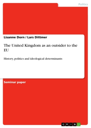 The United Kingdom as an outsider to the EU   Dodax.ch
